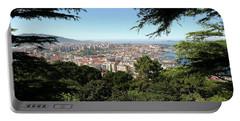Panoramic View Of Ria De Vigo Portable Battery Charger