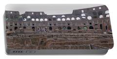 Panoramic View Of The Colosseum Portable Battery Charger