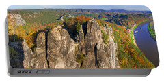 Panoramic Views Of Neurathen Castle Portable Battery Charger