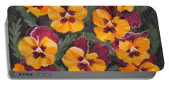 Pansies Are For Thoughts Portable Battery Charger