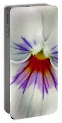 Pansy Flower 11 Portable Battery Charger by Pamela Critchlow