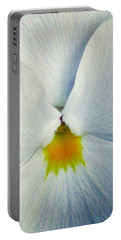 Pansy Flower 19 Portable Battery Charger by Pamela Critchlow
