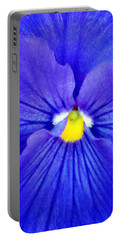 Pansy Flower 37 Portable Battery Charger by Pamela Critchlow