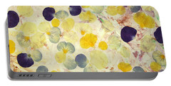 Pansy Petals Portable Battery Charger