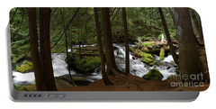Panther Creek Panorama- Washington Portable Battery Charger