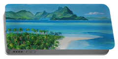 Papeete Bay In Tahiti Portable Battery Charger