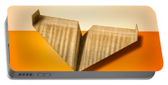 Paper Airplanes Of Wood 8 Portable Battery Charger