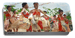 Papua New Guinea Cultural Show Portable Battery Charger