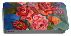 Parade Of Roses 11 Portable Battery Charger