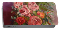 Parade Of Roses Portable Battery Charger