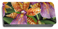 Paradise Orchid Portable Battery Charger