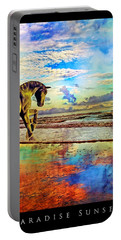 Paradise Sunset Portable Battery Charger