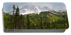 Paradise Valley And Mt.rainier View Portable Battery Charger