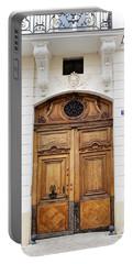 Paris Door - No. 30 - Paris Photography Portable Battery Charger