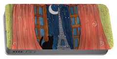 Paris Moonlight Portable Battery Charger