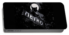 Paris Night Metro By Denise Dube Portable Battery Charger