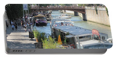 Paris - Seine Scene Portable Battery Charger