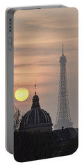 Paris Sunset I Portable Battery Charger