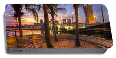 Park On The West Palm Beach Wateway Portable Battery Charger