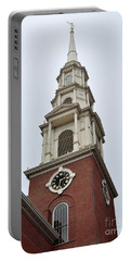 Park Street Church Boston Portable Battery Charger