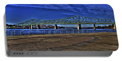 Portable Battery Charger featuring the photograph Parkersburg Point Park by Jonny D