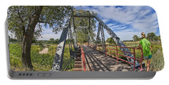 Portable Battery Charger featuring the photograph Parkville Missouri by Liane Wright