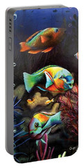 Parrot Fish Portable Battery Charger