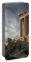 Parthenon From The South Portable Battery Charger by Ellen Henneke