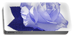 Portable Battery Charger featuring the photograph Pascali Rose by Jane McIlroy