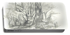 Passageway At Elephant Rocks Portable Battery Charger