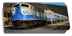 Portable Battery Charger featuring the photograph Passenger Train by Michael Gordon
