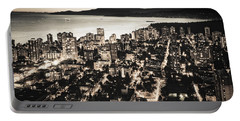 Portable Battery Charger featuring the photograph Passionate English Bay. Mccclxxviii By Amyn Nasser by Amyn Nasser