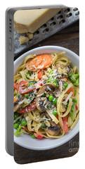 Pasta Primavera Dish Portable Battery Charger