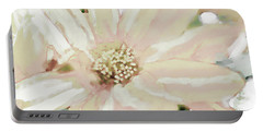 Pastel Daisy Photoart Portable Battery Charger