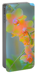 Pastel Orchids Portable Battery Charger