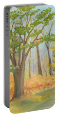 Path Of Trees Portable Battery Charger