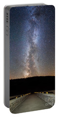 Path To Our Galaxy   Portable Battery Charger by Michael Ver Sprill