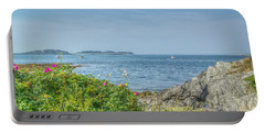 Portable Battery Charger featuring the photograph Path To The Cove by Jane Luxton