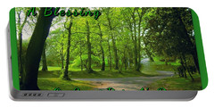 Pathway Saint Patrick's Day Greeting Portable Battery Charger