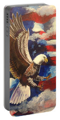 Patriotism Portable Battery Charger