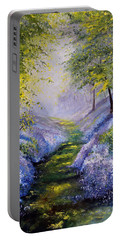 Pavilioned In Splendor Portable Battery Charger by Meaghan Troup