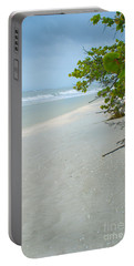 Peace And Quiet On Sanibel Island Portable Battery Charger by Jennifer White