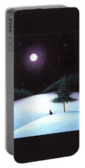 Peace Portable Battery Charger by Danielle R T Haney