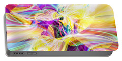 Portable Battery Charger featuring the digital art Peace by Margie Chapman