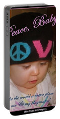 Peace N Love Baby Portable Battery Charger