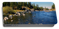 Peace On The Spokane River 2 Portable Battery Charger