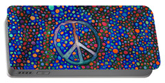 Peace Sign Portable Battery Charger