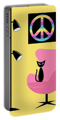 Peace Symbol Portable Battery Charger