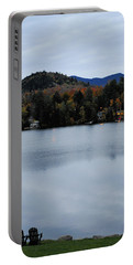 Peaceful Evening At The Lake Portable Battery Charger by Terry DeLuco