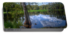 Peaceful Florida Portable Battery Charger by Timothy Lowry